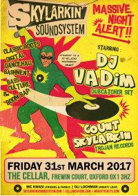 Skylarkin meets DJ Vadim (Ninja Tune) image