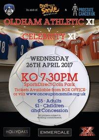 Oldham Athletic Legends v Celebrity XI image