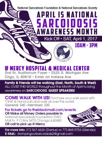 Sarcoidosis Awareness Month Kick Off image