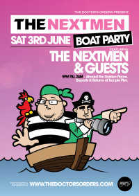 The Nextmen Boat Party image