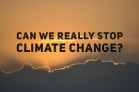 Climate Change:  can we really stop it? image