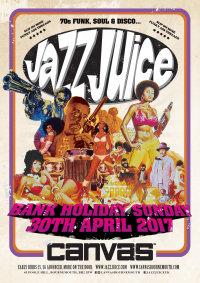 Jazz Juice at Canvas... Bank Holiday Sunday 30th April 2017 image
