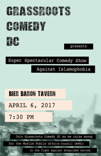 Stand-up Comedy Benefit for Muslim Public Affairs Council image