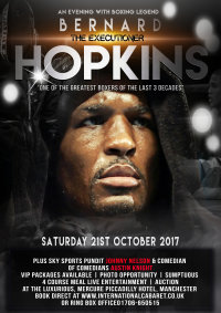 "An Evening With Bernard ""The Executioner"" Hopkins image"