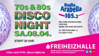 Radio Arabella Disco Night SA.08.04. image