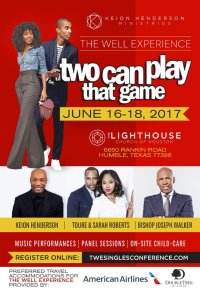 The Well Experience Singles Conference 2017 #2CanPlayThatGame image