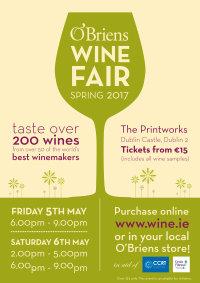 O'Briens Spring Wine Fair 2017 image