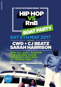 Hip-Hop vs R&B - BOAT PARTY image