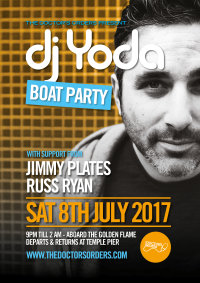 DJ YODA BOAT PARTY image