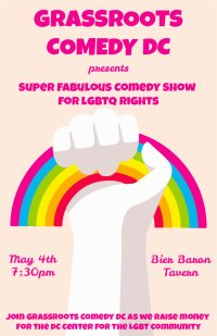 Stand-up Comedy Benefit For The DC Center For The LGBT Community image