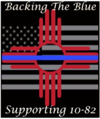 New Mexico Backing the Blue for Ten-82 image