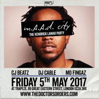 m.A.A.d City - The Kendrick Lamar Party image