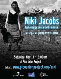 Niki Jacobs & Nikitov + Special Guest Mostly Kosher image