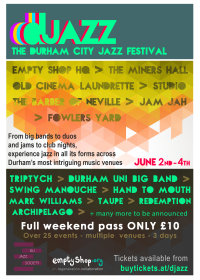 DJAZZ: The Durham City Jazz Festival image