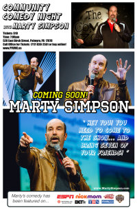 PFUMC Clean Comedy Night with Marty Simpson image