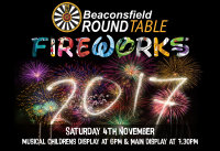 Beaconsfield Fireworks 2017 image