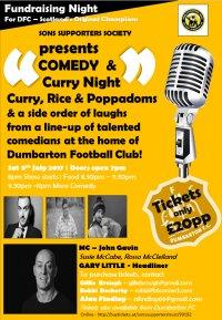 Dumbarton Comedy + Curry Night image