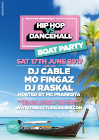 Hip-Hop vs Dancehall Boat Party image