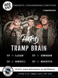 GLASGOW - The Hara Tramp Brain Tour 2019 image