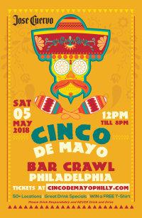 Cinco De Mayo Bar Crawl image