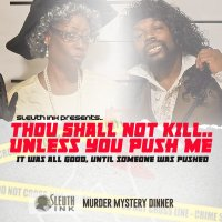 Thou Shall Not Kill Murder Mystery Brunch image