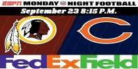 Bears vs Redskins $35.00 Shuttle Bus image