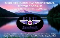 2018 ECETI Experience Multi-Dimensional Star Nation Contact -  Encinitas image