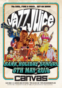 Jazz Juice 2018 - Canvas - MAY Bank Holiday Sunday 6th May 2018 image