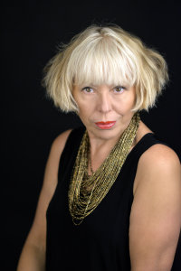 Barb Jungr sings Bob Dylan @ 'Joanna's Place' accompanied by pianist Jenny Carr image