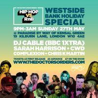Hip-Hop vs RnB - Westside Bank Holiday Special image