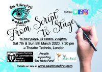 From Script to Stage - Saw It Here First Productions image