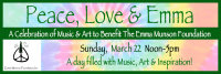 Peace, Love & Emma - A Celebration of Music and Art image
