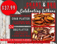Fathers Day Crabs & BBQ image