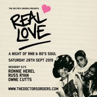 REAL LOVE - A Night of RnB & 80's Soul image