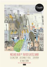 MICHAEL HEAD & THE RED ELASTIC BAND - LONDON Islington Assembly Hall image