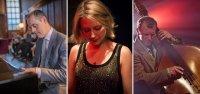 Jazz trio on the lawn with David Hall, Jennifer Maslin & James Sunney image