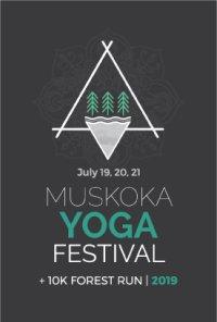 Muskoka Yoga Festival + 10k Forest Run image