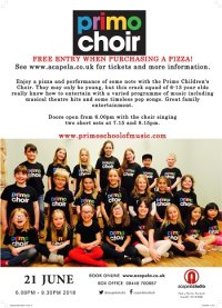 """Thursday Night is Pizza Night feat. """"The Primo Children's Choir"""" image"""