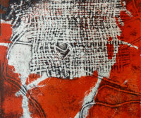 Inkerwoven: Developing ideas through printmaking - monoprint/mixed media 2 - £10.00 image
