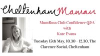 May MumBoss - Confidence Club with Kate Evans image