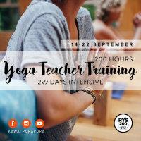 200 hour Yoga Teacher Training 2x9 days intensive image