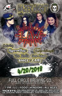 The Artourage Presents: Hazey Night with LAW image