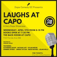 Dope Comedy DC Presents: Laughs at Capo image