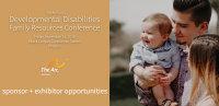 2018 Developmental Disabilities Family Conference Sponsorship + Exhibitor Registration image