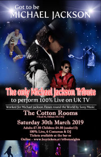 Got to be Michael Jackson - Oldham image