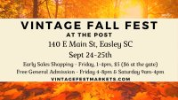 Vintage FALL FEST Early Bird Shopping image