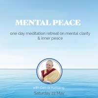 Day course and retreat on mental clarity and inner peace image