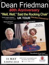 "Dean Friedman's 40th Anniversary ""Well, Well"" Said the Rocking Chair' Tour image"