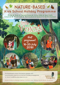'Little Voices' School Holiday Programme - July 2018 image