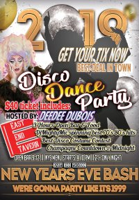 NYE Disco Dance Party image